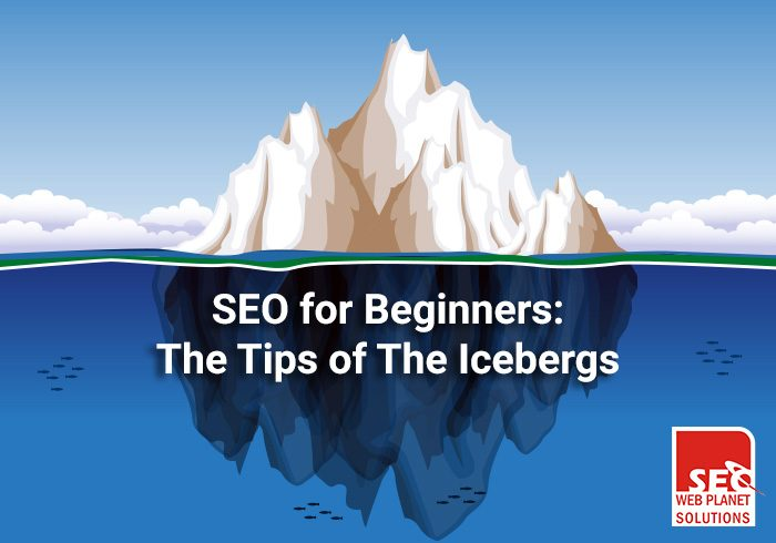SEO for Beginners: The Tips of The Icebergs
